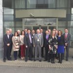 Kilkenny Chamber of Commerce Board Members pictured outside The Newpark Hotel at the 2013 AGM
