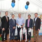 Martin Costello (President Kilkenny Chamber), John McNamara (Bolands BMW), David Good (Bolands BMW), Niall O'Gorman, Owen Sweeney, John Hurley (CEO Kilkenny Chamber)