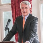 David Duffy, CEO Allied Irish Bank speaking at the Kilkenny Chamber Spring Lunch in the Kilkenny River Court Hotel on 13/03/14