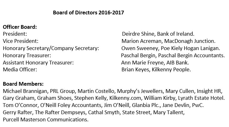 Board Of Directors 2016-2017