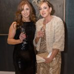 Yvonne Lanigan and Anita Walsh at the Kilkenny Chamber Business Awards. Photo: Pat Moore.