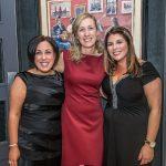 Lelia Ryan, Gillian Halley and Karen O'Sullivan at the Kilkenny Chamber Business Awards. Photo: Pat Moore.