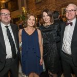 Fergal and Mary Conway with Caitriona and Tim Butler at the Kilkenny Chamber Business Awards. Photo: Pat Moore.
