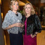 Niamh Carroll and Caroline Brennan at the Kilkenny Chamber Business Awards. Photo: Pat Moore.