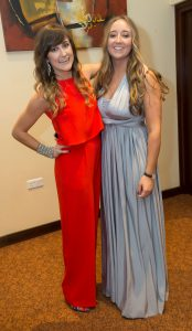 Sarah and Eimear Nolan at the Kilkenny Chamber Business Awards. Photo: Pat Moore.
