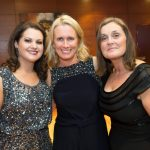 Sarah Millea, Dymphna Kelly and Trish Murphy at the Kilkenny Chamber Business Awards. Photo: Pat Moore.