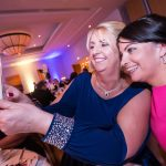 Pam Drennan and Ellen Brennan taking at selfie at the Kilkenny Chamber Business Awards. Photo: Pat Moore.