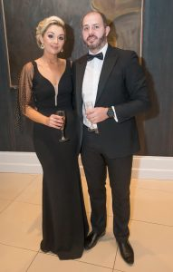 Caroline and Gearoid Cleere at the Kilkenny Chamber Business Awards. Photo: Pat Moore.