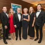 James, Lizzie, Gerry, Kathleen, Katie and Richard Moran at the Kilkenny Chamber Business Awards. Photo: Pat Moore.