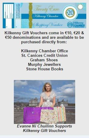 Kilkenny Gift Vouchers – The perfect gift for every occasion
