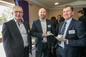 Tom OConnor, Laurence Conroy and Sean McKeown at the Kilkenny Chamber AGM. Photo: Pat Moore.