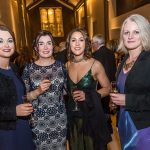 Deirdre Martin, Helen Doocy, Tracy Walsh Brennan and Linda Codoul, AIB at the Kilkenny Chamber Business Awards. Photo: Pat Moore.