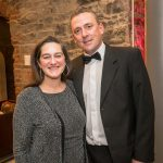 Lucia and John McNena at the Kilkenny Chamber Business Awards. Photo: Pat Moore.