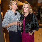 Niamh Carroll and Caroline Brennan at the Kilkenny Chamber Business Awards. Photo: Pat Moore.