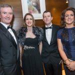 John Hurley, Michelle Walsh, Vincent Darcy and Roisin Shortall at the Kilkenny Chamber Business Awards. Photo: Pat Moore.