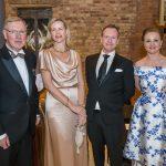 Xavier McAuliffe, Lorraine Walsh, Evan McAuliffe and Joanna Hannick at the Kilkenny Chamber Business Awards. Photo: Pat Moore.