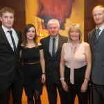 Johnny Dowling, Catriona Corbett, Seamus, Mary and Jamie Dowling at the Kilkenny Chamber Business Awards. Photo: Pat Moore.