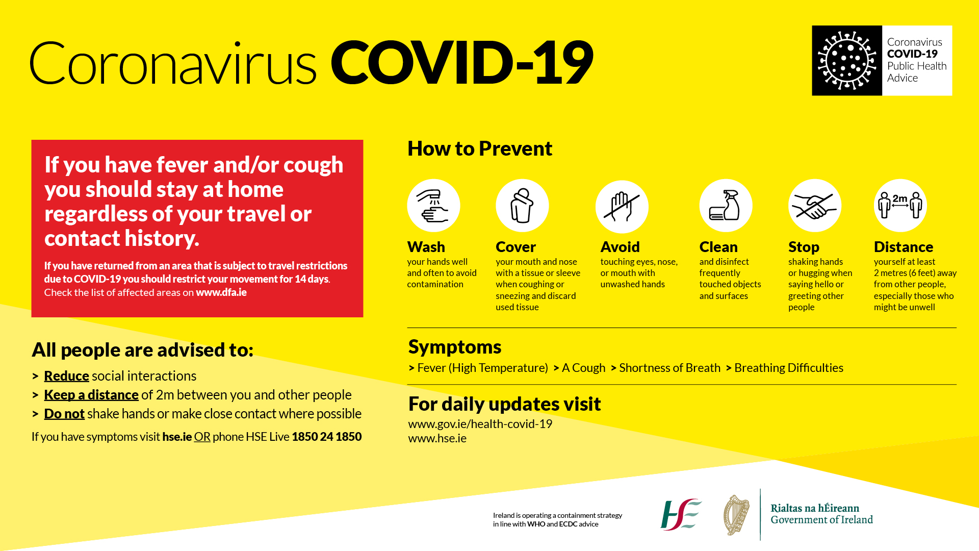 Government issued COVID-19 resources - Kilkenny Chamber