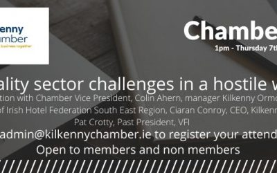 Chamber Chat- Hospitality sector challenges in a hostile environment