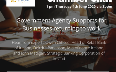 Chamber Chat – Government Agency Supports for Businesses returning to work