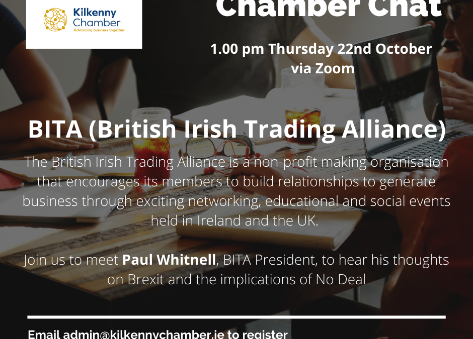 Chamber Chat with Paul Whitnell from BITA