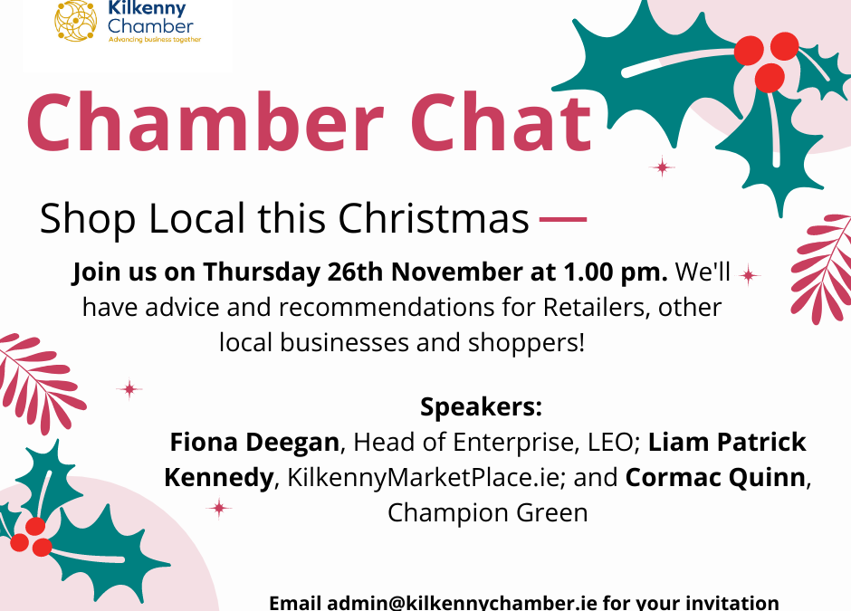 Chamber Chat – Retail Supports for Reopening